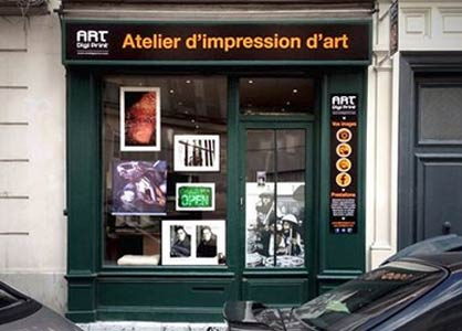 Atelier d'impression d'art à Paris
